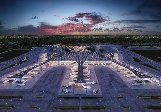 مطار اسطنبول أكبر مطار في العالم